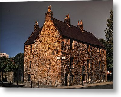 Auldest House Metal Print