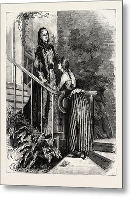 Aunt Charlotte And Mildred Metal Print