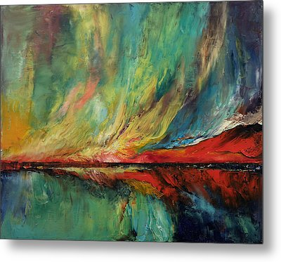 Aurora Dance Metal Print by Michael Creese