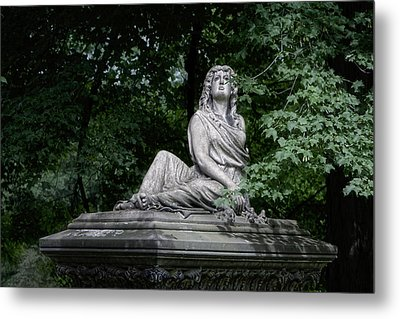 Aurther Haserot Monument Metal Print by Tom Mc Nemar