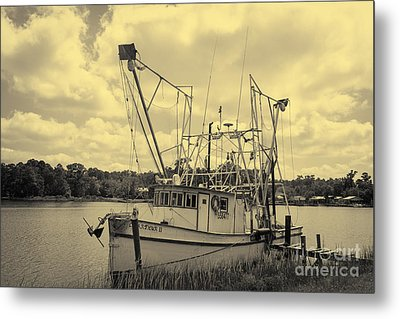 Aurthur Metal Print by Russell Christie