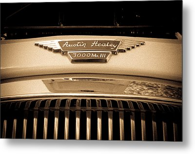 Metal Print featuring the photograph Austin Healey by Erin Kohlenberg