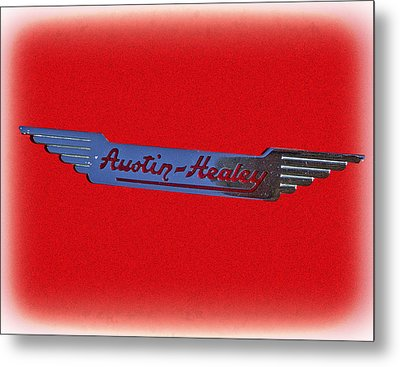 Austin-healey Metal Print by Larry Bishop