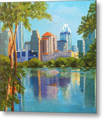 Austin Morning Metal Print