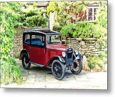 Austin Seven Metal Print by Paul Gulliver