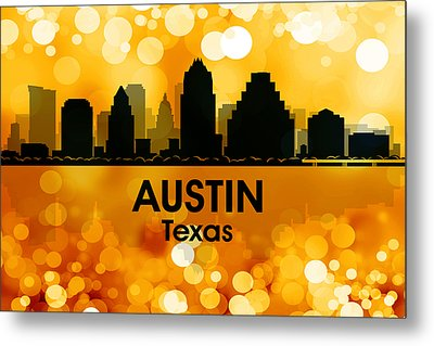 Austin Tx 3 Metal Print by Angelina Vick