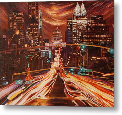 Austin Unplugged Metal Print by Suzanne King