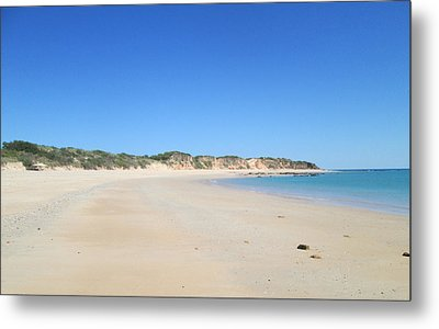 Metal Print featuring the photograph Australian Beach by Tony Mathews