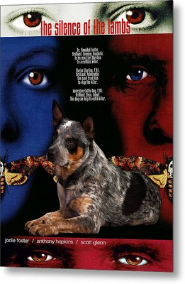 Australian Cattle Dog Art Canvas Print Metal Print by Sandra Sij