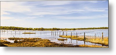 Australian Mangrove Landscape Panorama Metal Print by Jorgo Photography - Wall Art Gallery