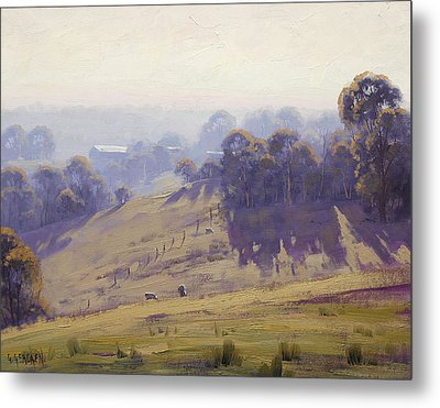 Australian Oil Painting Metal Print by Graham Gercken
