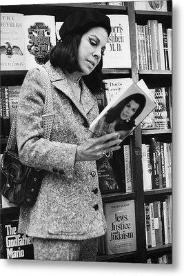 Author Jacqueline Susann Metal Print