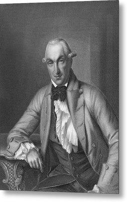 Author Johann Heinrich Merck Metal Print