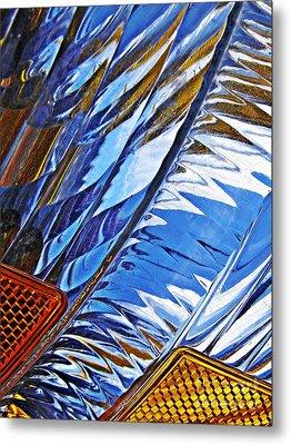 Auto Headlight 29 Metal Print by Sarah Loft