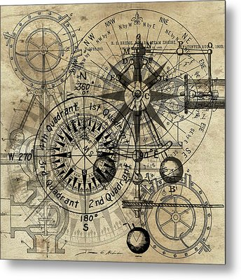 Autowheel IIi Metal Print by James Christopher Hill