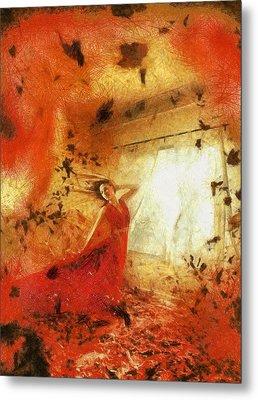 Autumn Metal Print by Arin Koleva