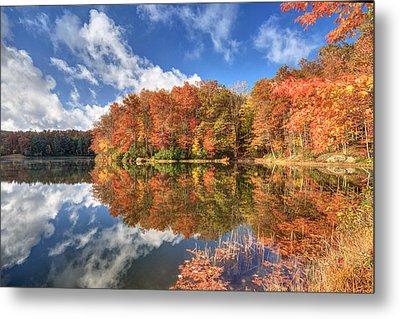 Autumn At Boley Lake Metal Print