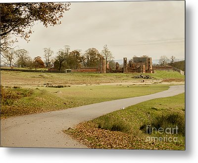 Autumn At Bradgate Park  Metal Print by Linsey Williams