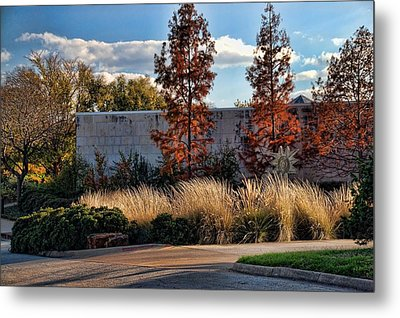 Autumn At Fort Worth Botanic Gardens Metal Print
