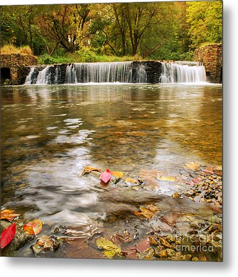 Autumn At Valley Creek Metal Print