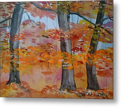 Autumn Beauty Metal Print by Judi Goodwin