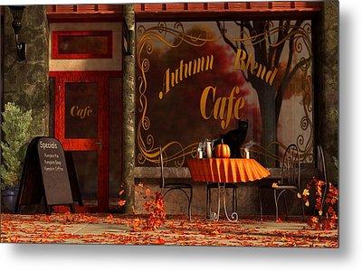 Autumn Blend Metal Print by Daniel Eskridge