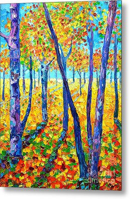 Autumn Colors Metal Print by Ana Maria Edulescu