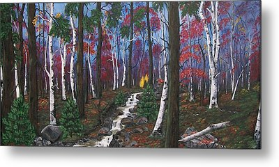 Autumn Colours Metal Print by Sharon Duguay