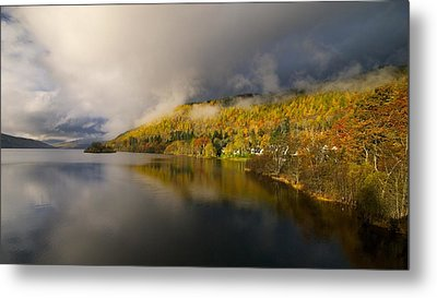 Metal Print featuring the photograph Autumn Colours  by Stephen Taylor