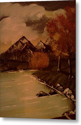 Autumn  Day  Metal Print by Renee McKnight
