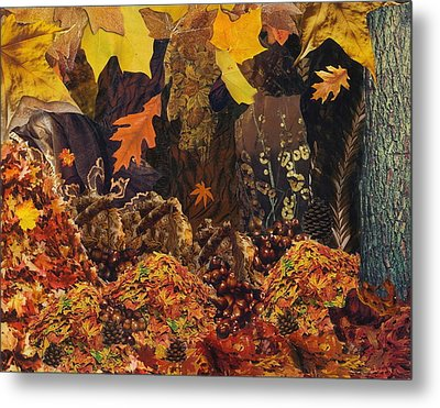 Autumn Metal Print by Denise Mazzocco