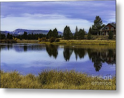 Autumn Dream Metal Print by Nancy Marie Ricketts