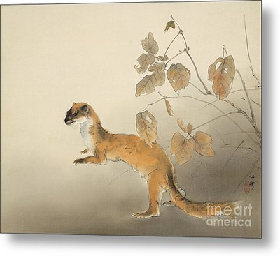 Autumn Farm Metal Print by Pg Reproductions