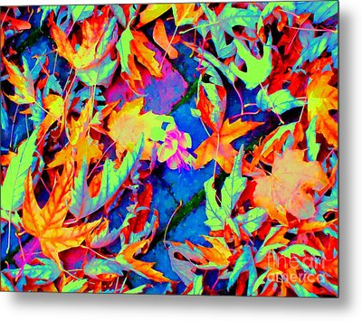 Autumn Fiesta Metal Print by Ann Johndro-Collins