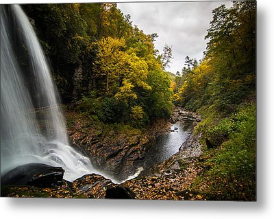 Autumn Flow Metal Print by Serge Skiba