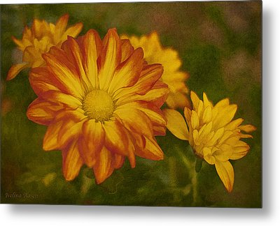 Autumn Flowers Metal Print by Ivelina G