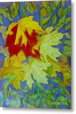 Autumn Metal Print by Frances  Dillon