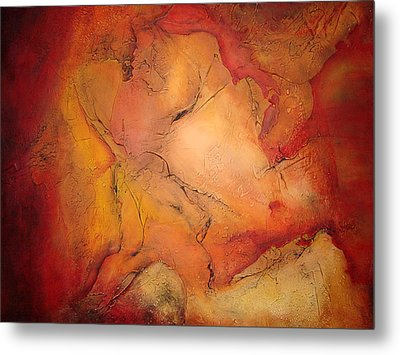 Autumn Fury Metal Print by Tamara Bettencourt