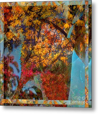 Autumn Fusion 5 Metal Print by Jeff Breiman