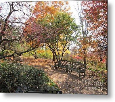 Autumn Garden Metal Print