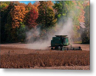 Autumn Harvest Metal Print by Gene Sherrill