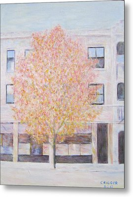 Autumn In Chicago Metal Print