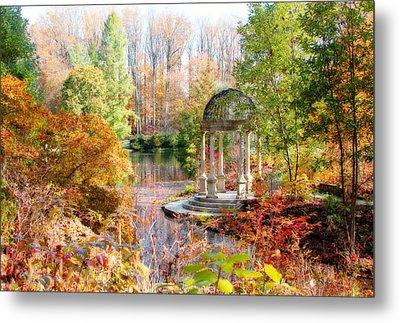 Autumn In Longwood Gardens Metal Print