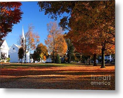 Autumn In Massachusetts Metal Print by Denis Tangney Jr