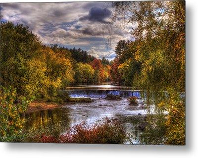 Autumn In New England - Contoocook Nh Metal Print by Joann Vitali