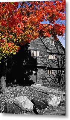 Autumn In Salem Metal Print by Jeff Folger