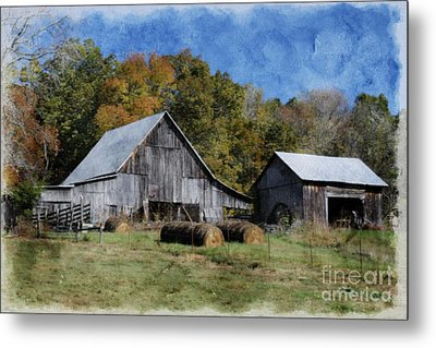 Autumn In Tennessee Metal Print by Benanne Stiens