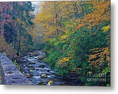 Autumn In The Great Smoky Mountains V Metal Print