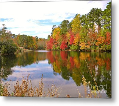 Autumn In The South Metal Print