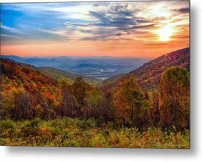 Autumn In Virginia Metal Print
